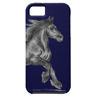 iPhone 5 vibe case - fell pony cantering iPhone 5 Covers