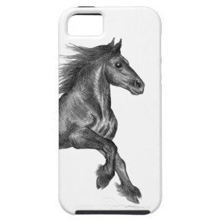 iPhone 5 vibe case - fell pony cantering iPhone 5 Cover
