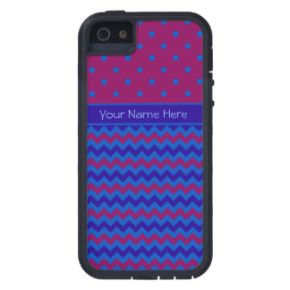 iPhone 5 Xtreme Case Personalize Purple Chevrons iPhone 5/5S Cover