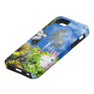 iPhone 5 Zebra Bunny Abstract by valxart.com iPhone SE/5/5s Case