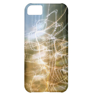 """iPhone 5C, Barely There case """"dancing light """""""