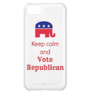 iPhone 5c Case - Keep Calm and Vote Republican