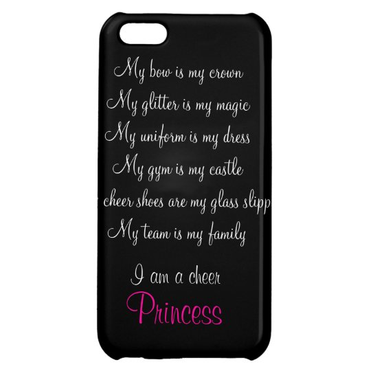 cheap for discount 1df11 a8cb7 iPhone 5C Cheer Princess Phone Case