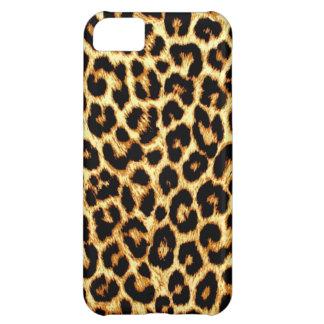 iPhone 5c del caso del leopardo