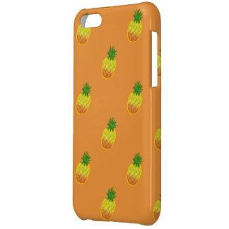 iphone 5c del modelo de la piña