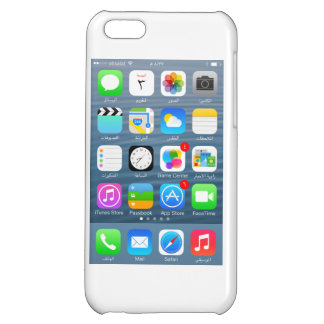 iPhone 5C glossary case - Home page in Arabic