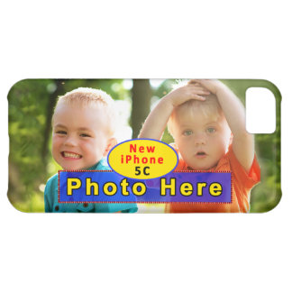 iPhone 5C Photo Case with INSTRUCTIONS iPhone 5C Cover
