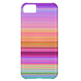 iPhone 5C Pink Purple Blue Stripes Cover For iPhone 5C