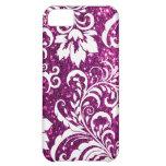 iPhone 5C Purple Glitter Case iPhone 5C Cases