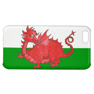 iPhone 5C Savvy Case, Cute Welsh Red Dragon Cover For iPhone 5C