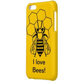 iPhone 5C Savvy - I love bees! iPhone 5C Cases