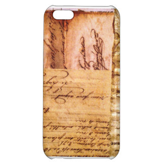 iPhone 5C Vintage Paper Case