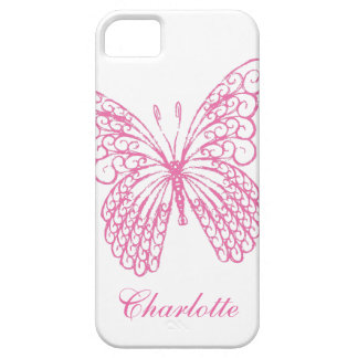 iPhone 5Case-MateBarelyThere de la mariposa de las iPhone 5 Funda