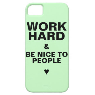 iPhone 5s Case Motivational: Green