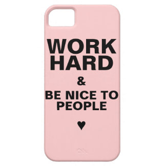 iPhone 5s Case Motivational: Pink
