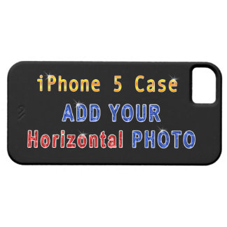 iPhone 5S Picture Cases (Horizontal Photo) iPhone 5 Covers