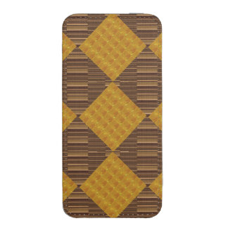 iPhone 5s Smartphone Pouch Rich Gold Embossed GIFT iPhone 5 Pouch