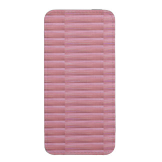 iPhone 5s Smartphone Pouch SILKY PINK PURPLE STRIP iPhone 5 Pouch