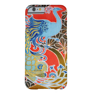 iPhone 6/6s Art Nouveau Peacock Barely There iPhone 6 Case