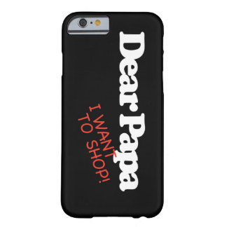 iPhone 6/6s, Barely There del caso de Shopaholic Funda Barely There iPhone 6