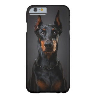 iPhone 6/6s, Barely There del Doberman Funda De iPhone 6 Barely There