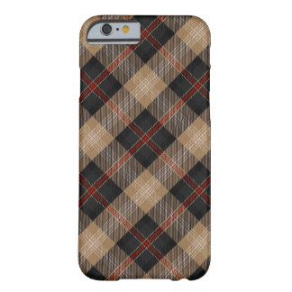 iPhone 6/6S Barely There del tartán de Logan Funda Para iPhone 6 Barely There