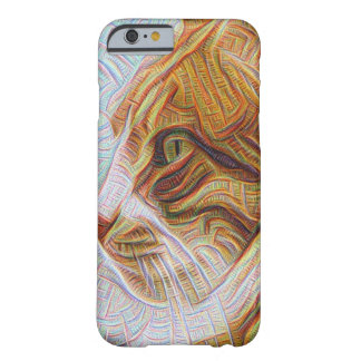 iPhone 6/6s, Barely There (gato psicodélico) Funda Para iPhone 6 Barely There