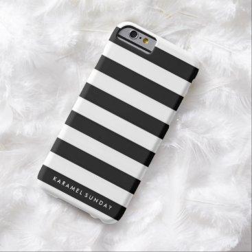 iPhone 6/6s Case - KS Signature Nautical Black