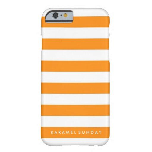 iPhone 6/6s Case - KS Signature Nautical Orange