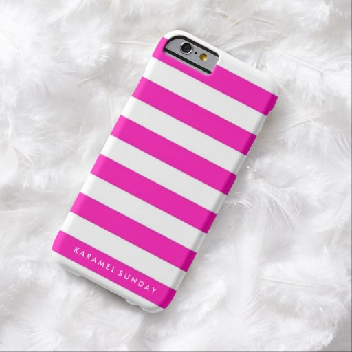 iPhone 6/6s Case - KS Signature Nautical Pink