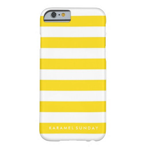 iPhone 6/6s Case - KS Signature Nautical Yellow
