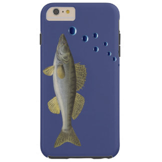 iPhone 6/6s case with fish - scuba divers