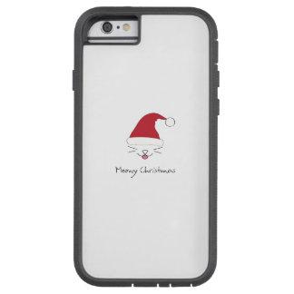 iPhone 6/6s, caso duro del navidad de Meowy de Funda Tough Xtreme iPhone 6