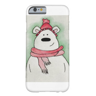 iPhone 6/6s, Christmas polar bear Barely There iPhone 6 Case