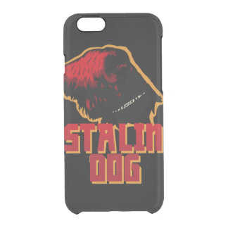 iPhone 6/6s Clearly™ Deflector Case stalin dog