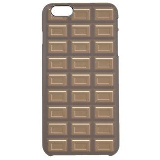 iPhone 6/6S de la barra de chocolate más el caso Funda Clear Para iPhone 6 Plus