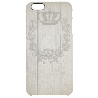 iPhone 6/6s de la corona del vintage+ Desviación Funda Clearly™ Deflector Para iPhone 6 Plus De Unc