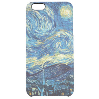 iPhone 6/6S de la noche estrellada más el caso Funda Clearly™ Deflector Para iPhone 6 Plus De Unc