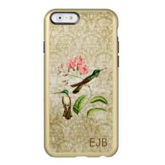 iPhone 6/6S del damasco del colibrí de la gema de Funda Para iPhone 6 Plus Incipio Feather Shine