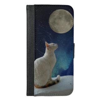 iPhone 6/6s del gato más la caja de la cartera