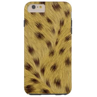iPhone 6/6S del leopardo más el caso duro Funda De iPhone 6 Plus Tough