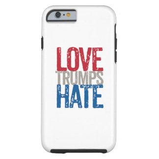 Iphone 6/6s del odio de los triunfos del amor funda resistente iPhone 6