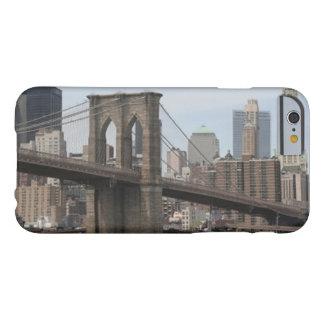 iPhone 6/6s del puente de Brooklyn Funda De iPhone 6 Barely There