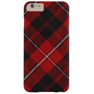 iPhone 6/6S del tartán de Cunningham más el caso Funda De iPhone 6 Plus Barely There