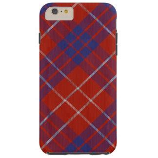 iPhone 6/6S del tartán de Hamilton más el caso Funda De iPhone 6 Plus Tough