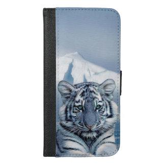 iPhone 6/6s del tigre más la caja de la cartera