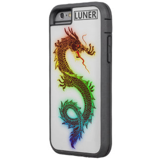 iPhone 6/6s, dragón Xtreme duro del arco iris Funda Tough Xtreme iPhone 6