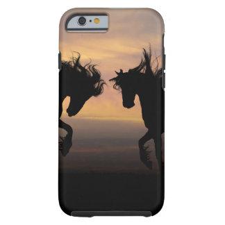 iPhone 6/6s, duro - caballos gemelos Funda De iPhone 6 Tough