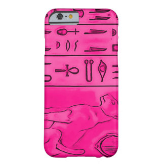 iPhone 6/6S Egyptian Pink Topaz Pharoah Art Barely There iPhone 6 Case