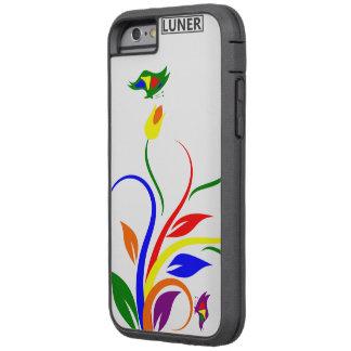 iPhone 6/6s, flores duras de Xtreme y mariposas Funda Tough Xtreme iPhone 6